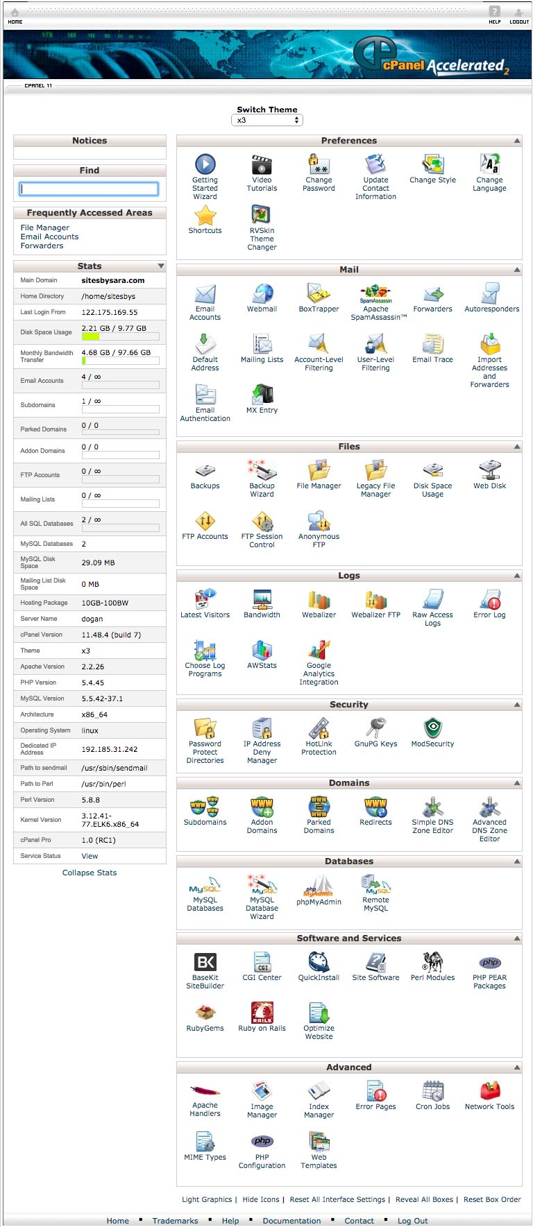 Web Hosting and Domain Name Registration   Sites By Sara   Sites by Sara